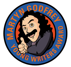 Martyn Godfrey Young Writers Award logo